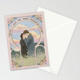 Pride and Prejudice Art Nouveau Stationery Cards