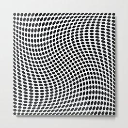 op art - dot twist Metal Print