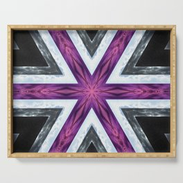 Asexual asterisk Serving Tray