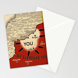 We Surround You Stationery Cards