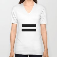 equality V-neck T-shirts featuring Equality  by Jeef