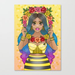 Buzz Buzz Canvas Print