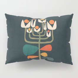 Retro botany Pillow Sham