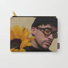 Bad bunny sunflower Carry-All Pouch