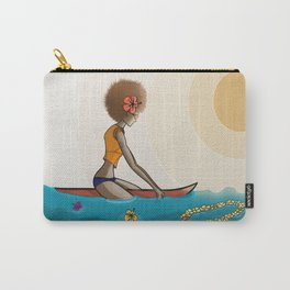 surfing in sunnies Carry-All Pouch