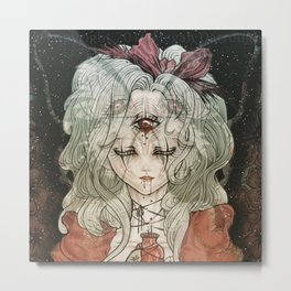 Third Eye Alice Metal Print