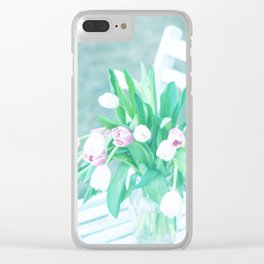 sitting in the Sun Clear iPhone Case