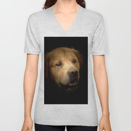 Golden Retriever Unisex V-Neck