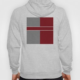 Team Color 6....gray,maroon Hoody