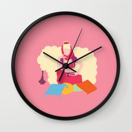 I dream of Jeannie Wall Clock