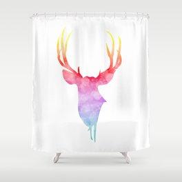 Neonimals: Deer Shower Curtain