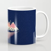 decal Mugs featuring The Other Side by Zach Terrell