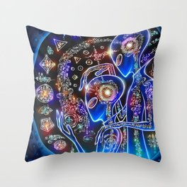 Ideation Intention Throw Pillow