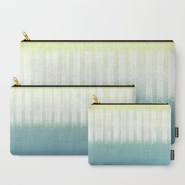Grid over Ocean Carry-All Pouch