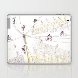 Cycling in London Laptop & iPad Skin