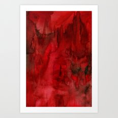 Damon Wash Art Print
