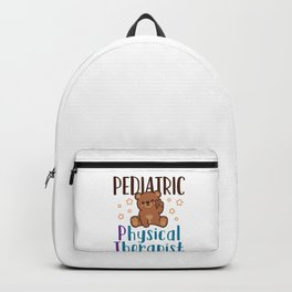 Pediatric Physical Therapist Backpack