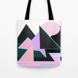 Hello Mountains - Moonlit Adventures Tote Bag