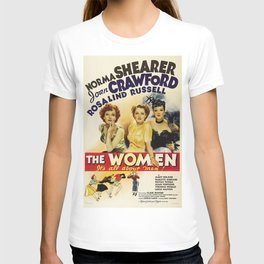 Classic Movie Poster - The Women T-shirt