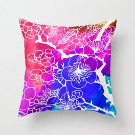 Flowers I Throw Pillow