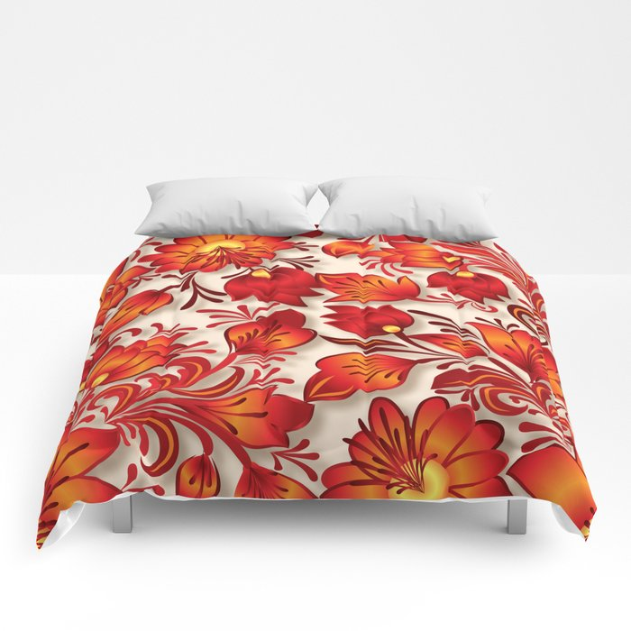 Shabby flowers #23 Comforters