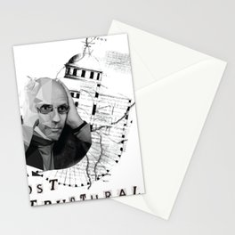 Michel Foucault Stationery Cards