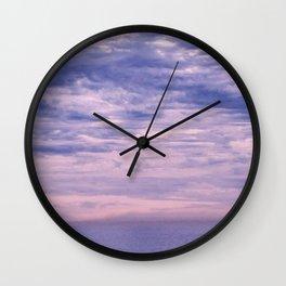 Sunset Socal Wall Clock