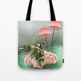 Nature Club: Springtime Hawkmoth Tote Bag