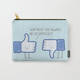 likes vs unlikes Carry-All Pouch