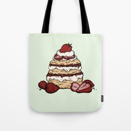 S is for Shortcake Tote Bag