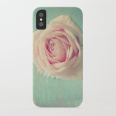 Mint Rose  iPhone X Slim Case