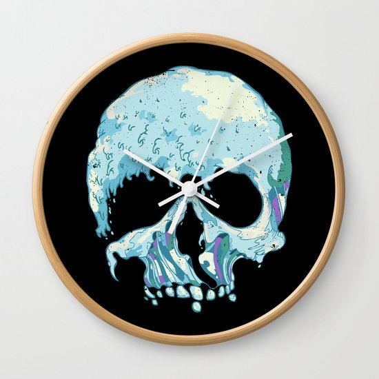 Silent Wave Wall Clock