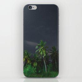 moonlight palms iPhone Skin