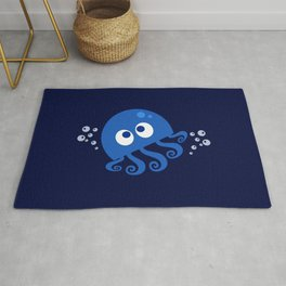 Bubbly Octopus Rug
