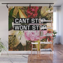 CANT STOP WONT STOP Wall Mural
