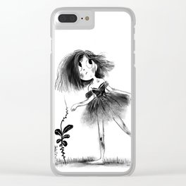 Gutter Girl Clear iPhone Case