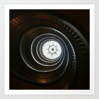 La Spirale Art Print