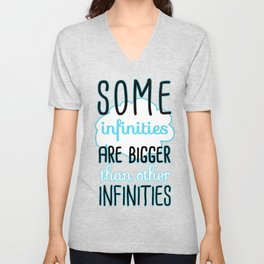 Some Infinities - The Fault In Our Stars Unisex V-Neck