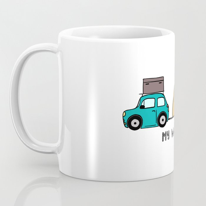 My way - travel with me Coffee Mug