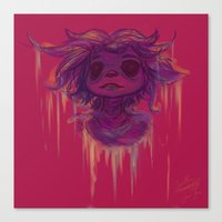 hiccup Canvas Prints featuring Hiccup by Satu Mitsumi