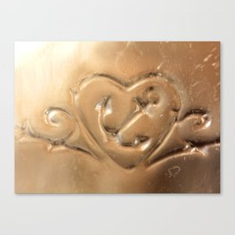 Your Love is My Anchor- Vintage Glass Canvas Print