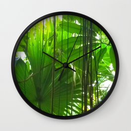 Winterblues Wall Clock