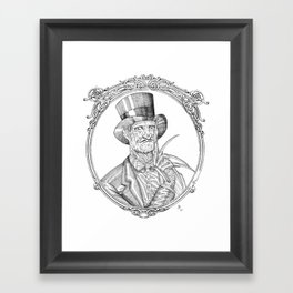 Fancy Freddy Framed Art Print