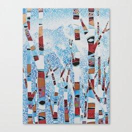 Alyeska First Snowfall Canvas Print