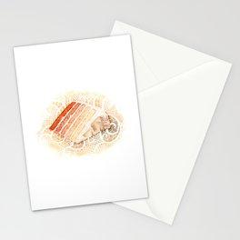 Ombre Cake Slice Stationery Cards