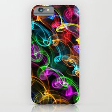 Neon crazy lights - for iphone iPhone 6s Slim Case
