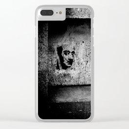 Salvador Dali Clear iPhone Case