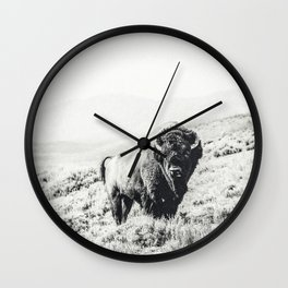 Nomad Buffalo Wall Clock