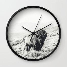 Nomad Buffalo Wall Clock