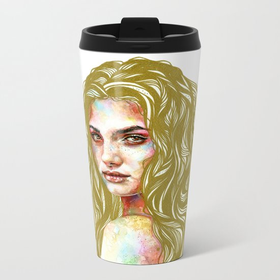 Aurum Metal Travel Mug